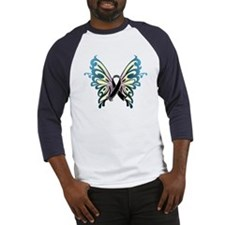 Skin Cancer Butterfly Baseball Jersey