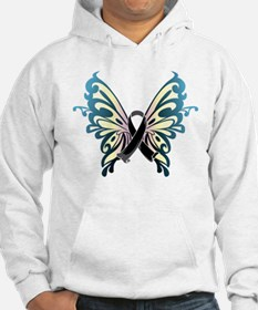 Skin Cancer Butterfly Hoodie