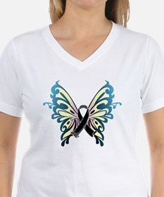 Skin Cancer Butterfly Shirt
