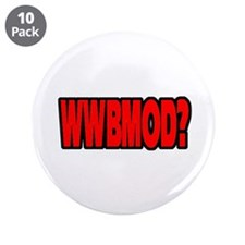 "Benevolent Martian Overlords 3.5"" Button (10 pack)"