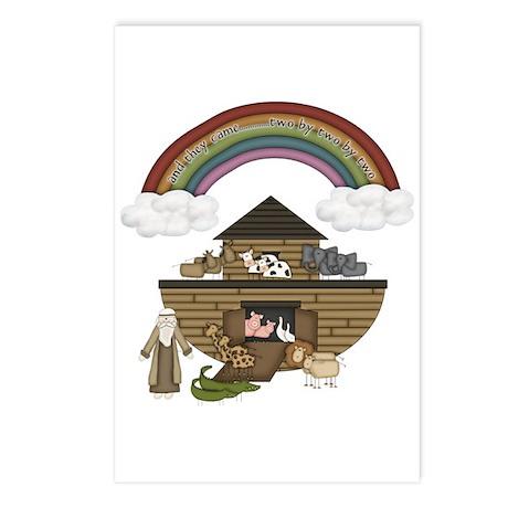 Noah's Ark Postcards (Package of 8)