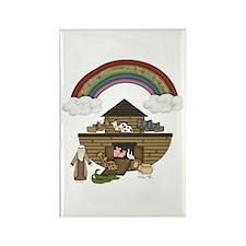 Noah's Ark Rectangle Magnet (10 pack)