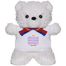 Plus Birthdays 80 Teddy Bear
