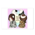 Make Time For Pigeons Postcards (Package of 8)
