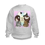 Make Time For Pigeons Kids Sweatshirt