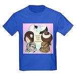 Make Time For Pigeons Kids Dark T-Shirt