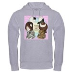 Make Time For Pigeons Hooded Sweatshirt