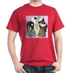 Make Time For Pigeons Dark T-Shirt