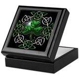 Celtic knot Square Keepsake Boxes