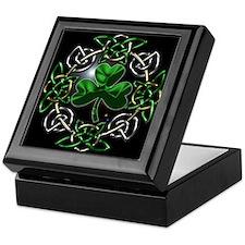 St. Patrick's Day Celtic Knot Keepsake Box