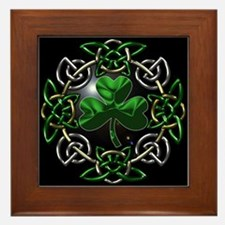 St. Patrick's Day Celtic Knot Framed Tile