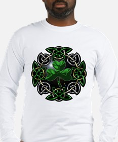 St. Patrick's Day Celtic Knot Long Sleeve T-Shirt