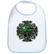 St. Patrick's Day Celtic Knot Bib