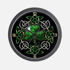 St. Patrick's Day Celtic Knot Wall Clock
