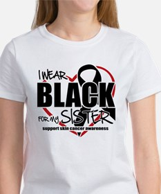 SK: Black for Sister Women's T-Shirt