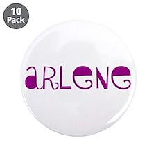 "Arlene 3.5"" Button (10 pack)"