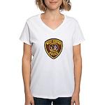 West Covina Police Women's V-Neck T-Shirt