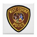 West Covina Police Tile Coaster