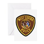 West Covina Police Greeting Cards (Pk of 20)