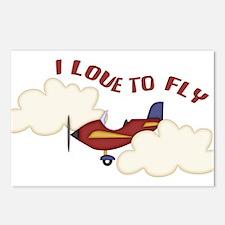 Kids Airplane Postcards (Package of 8)