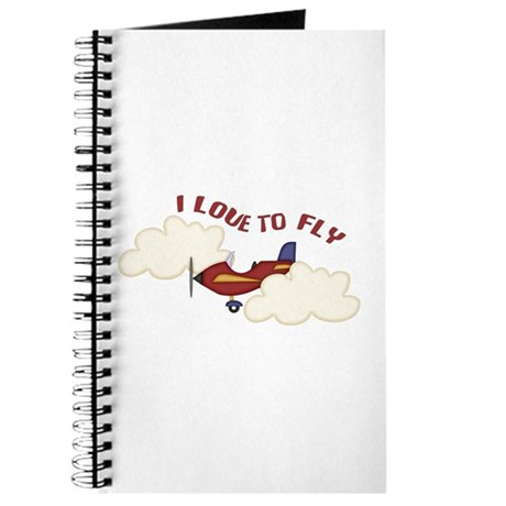 Kids Airplane Journal