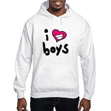 I Heart Boys Hoodie