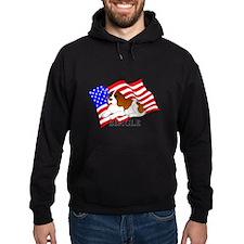 Beagle USA Hoodie