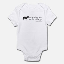 border collie gifts Infant Bodysuit