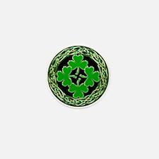 St. Patrick's Day Celtic Knot 2 Mini Button