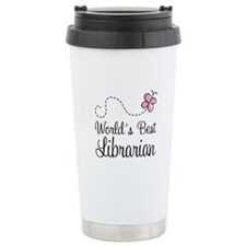 World's Best Librarian Travel Mug