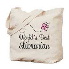 World's Best Librarian Tote Bag