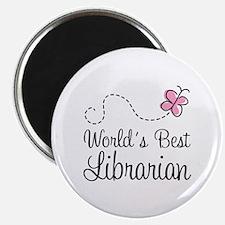 "World's Best Librarian 2.25"" Magnet (10 pack)"