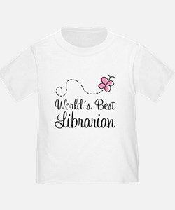 World's Best Librarian T