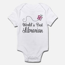 World's Best Librarian Infant Bodysuit