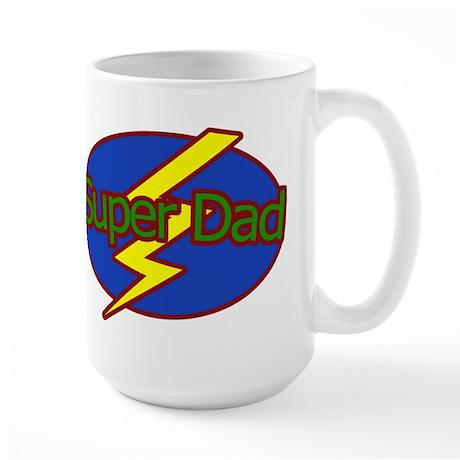 Super Dad - Large Mug