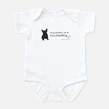 french bulldog gifts Infant Bodysuit