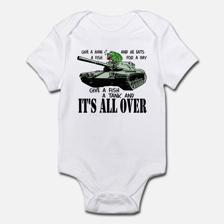 Fish Tank Infant Bodysuit
