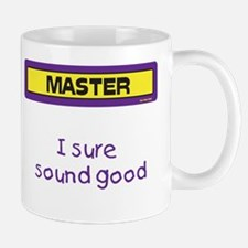 I sure sound good Mug (Yellow and Purple)