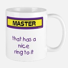 Nice Ring Mug (Purple and Yellow)