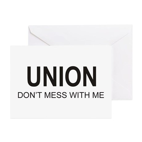 Union Greeting Cards (Pk of 20)