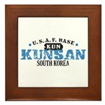 Kunsan Air Force Base Framed Tile