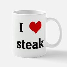 I Love steak Mug