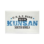 Kunsan Air Force Base Rectangle Magnet (100 pack)