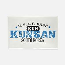Kunsan Air Force Base Rectangle Magnet