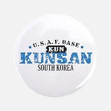"Kunsan Air Force Base 3.5"" Button"