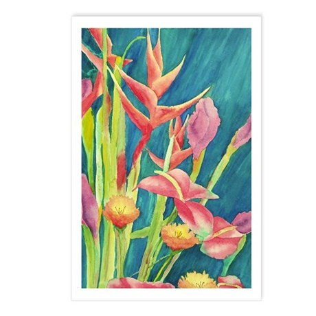 Birds of Paradise Postcards (Package of 8)