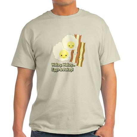 Wakey Wakey Eggs N Bakey Light T-Shirt