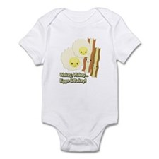 Wakey Wakey Eggs N Bakey Infant Bodysuit