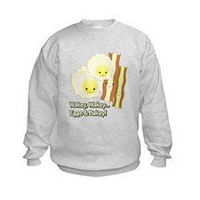Wakey Wakey Eggs N Bakey Sweatshirt