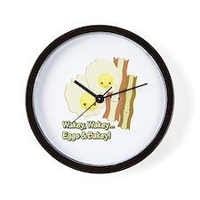 Wakey Wakey Eggs N Bakey Wall Clock
